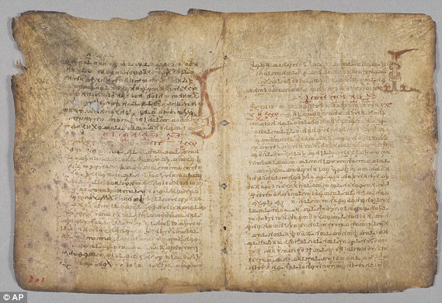 Eureka! 1,000-year-old text by Greek maths genius Archimedes goes on display